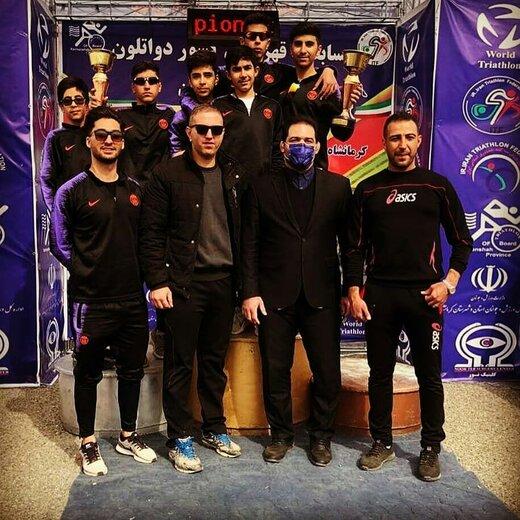 چهارمحال وبختیاری بر سکوی سوم مسابقات دو گانه قهرمانی کشور ایستاد