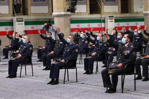 دیدار جمعی از فرماندهان نیروی هوایی و نیروی پدافند هوایی ارتش