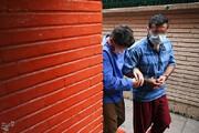تصاویر | دستگیری دزدهای سابقهدار در حین سرقت از یک خانه