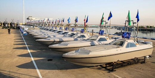 ٣۴٠ شناور رزمی به نیروی دریایی سپاه اضافه شد
