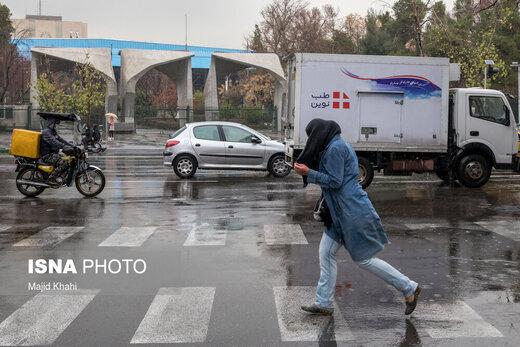 بارش باران و وزش باد شدید در ۲۵ استان کشور طی دو روز آینده