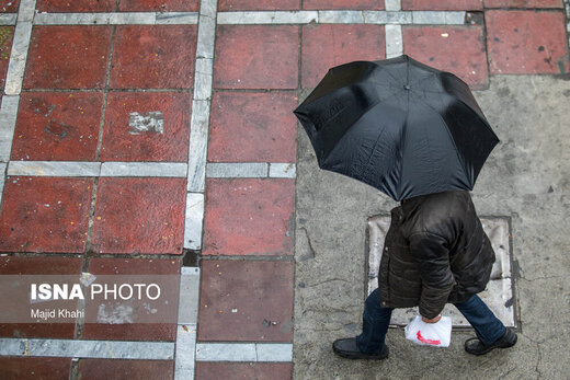 در این شهرها باران میآید/ شروع خیزش گردوخاکها در استانهای جنوبی