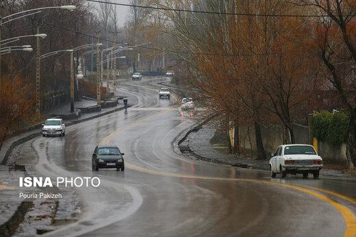 کدام جادهها امروز بسته است؟