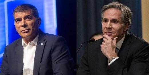 وزیران خارجه آمریکا و اسرائیل درباره ایران گفتگو کردند