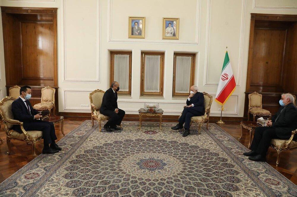 دیدارهای ظریف با سفرای خارجی در وزارت خارجه/عکس
