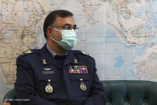 امیر سرتیپ واحدی: امنیت هوایی کشور را با اقتدار و عزت تامین میکنیم