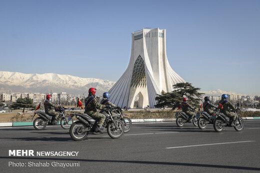 پلیس راهور: فراخوانی برای حضور پیاده مردم در مراسم ۲۲ بهمن وجود ندارد