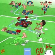 ببینید این پسر با بارسلونا چه کرد!