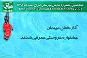 آثار بخش میهمان جشنواره نمایش عروسکی معرفی شدند