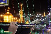 ببینید | نقاره زنی در حرم مطهر رضوی به مناسبت شب اول ماه رجب