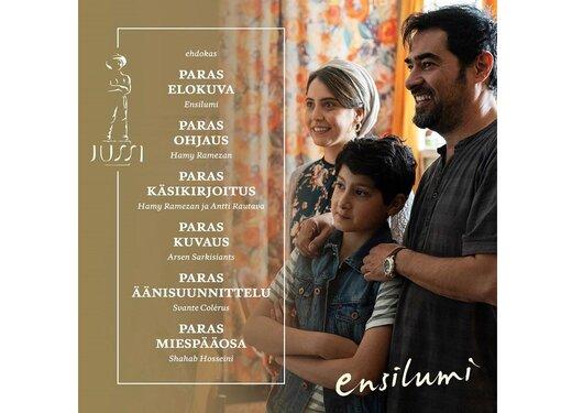 شهاب حسینی، نامزد جایزه بهترین بازیگر فنلاند شد