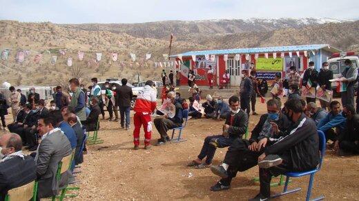 اجرای پروژه حمایتی و معیشتی در گچساران، باشت و بهمئی توسط جمعیت هلال احمر کهگیلویه و بویراحمد