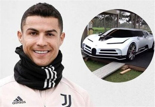 خودرو فوق لاکچری کریس رونالدو با قیمت ۸ میلیون یورو/عکس