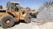 ۵۲۵ مورد ساخت و ساز غیرمجاز در اراضی کشاورزی تخریب شد