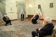 روحانی به وزیر امور خارجه قطر: آمریکا تحریم های غیرقانونی را لغو کند، ایران به تعهدات خود بازخواهد گشت