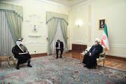 الرئيس روحاني : تحقيق الامن والسلام في المنطقة رهن بتعاون الدول الاقليمية