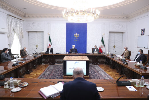 الرئيس روحاني : الحكومة تبذل مابوسعها لتوفير الاحتياجات الضرورية للمواطنين