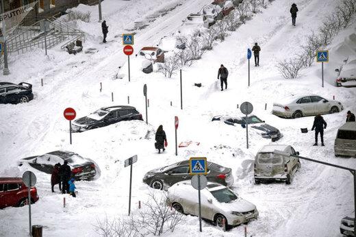 ببینید | مسکو بعد از آخرالزمان برفی