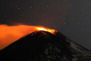 ببینید | تصاویری ترسناک از فوران آتشفشان اتنا در ایتالیا