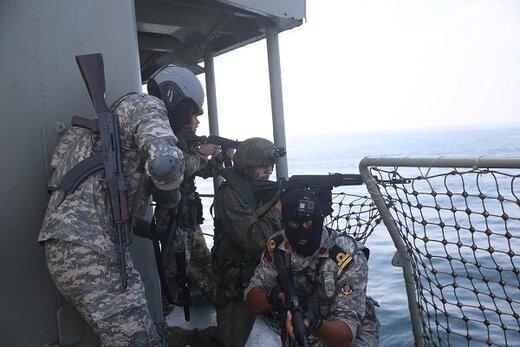 عملیات آزادسازی کشتی ربوده شده توسط دزدان دریایی/ رزمایش مشترک ایران، روسیه و هند