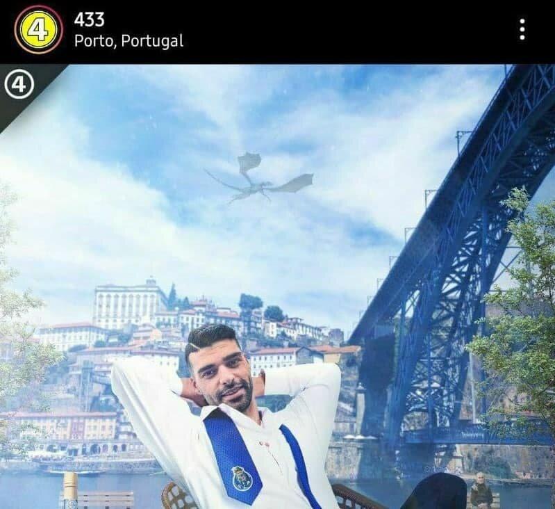 طارمی روی معروفترین صفحه اینستاگرام فوتبالی/عکس