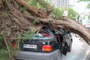 طوفانی با سرعت ۱۰۰ کیلومتر در ساعت اصفهان را درهم کوبید