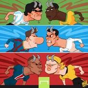 خدایان فوتبال در ۳ نسل مختلف را ببینید!