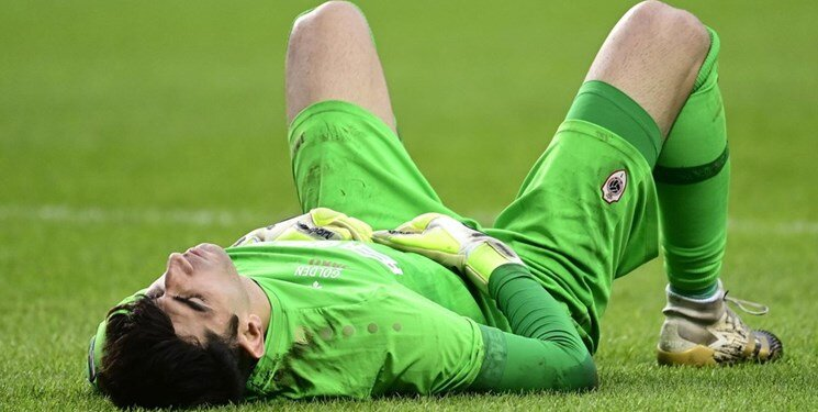 Alireza Beiranvand possibly out for weeks