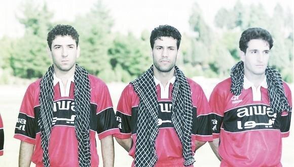 علی انصاریان و روزهای جوانی/عکس