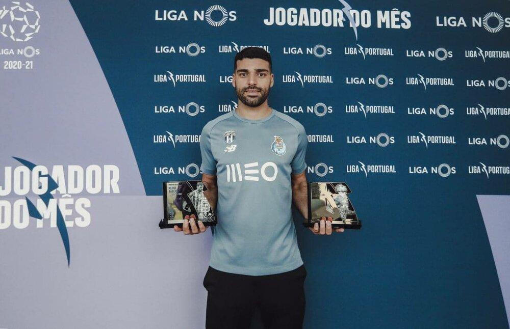 جوایز لیگ پرتغال در دستان طارمی /عکس