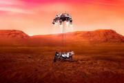 ببینید | رد چرخ دنده و لاستیک روی مریخ!