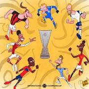 ببینید: رقابت داغ ستارههای اروپا برای یک جام!