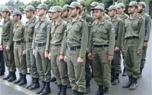 جذب مشمولان غایب بالای یک سال در فرماندهی انتظامی چهارمحال وبختیاری