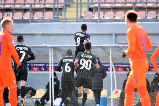 پیروزی شیرین زوریا با گل سه امتیازی زاهدی