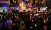 ادامه درگیریها در اسپانیا