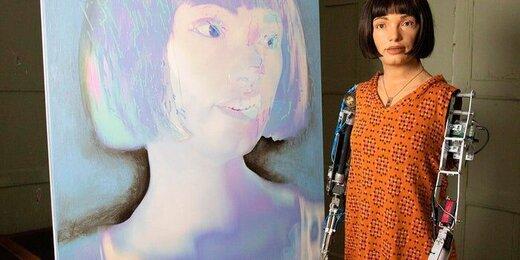 «ایدا»، نخستین ربات هنرمند جهان