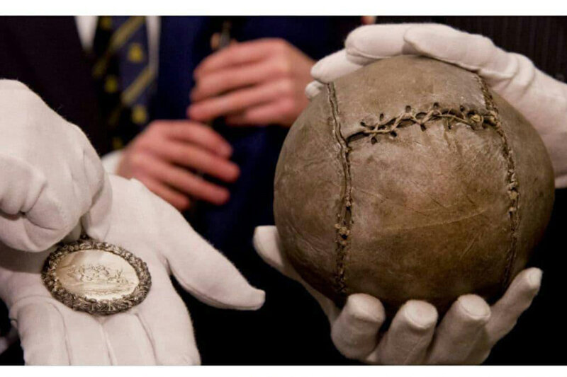 5533652 - ببینید | قدیمیترین توپ فوتبال جهان