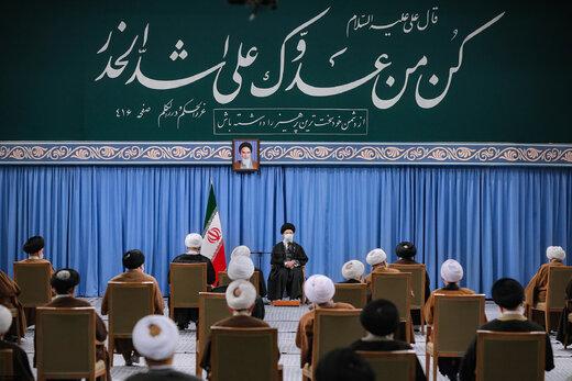 ببینید | بیانات امروز رهبر انقلاب درباره اختلاف نظر بین مجلس و دولت