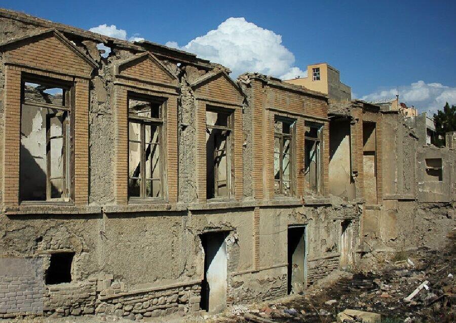 ثبت ملی خانه منسوب به باقرخان در آثار ملی