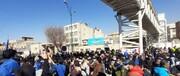 تجمع هواداران استقلال مقابل مجلس/عکس