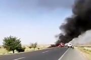 ببینید  انفجارهای هولناک قطار حامل محصولات نفتی پس از تصادف با کامیون