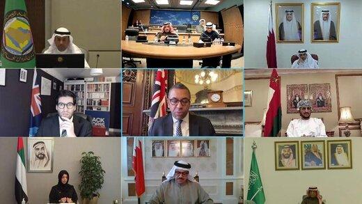نشست عربی انگلیسی در مورد ایران