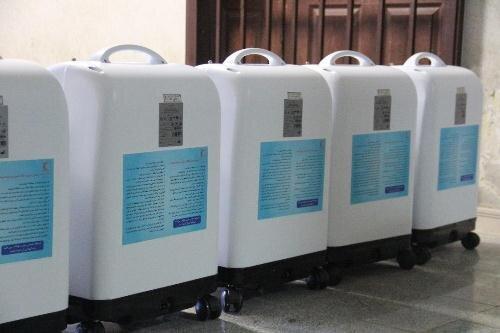۱۰دستگاه اکسیژنساز در شعب هلال احمر قزوین توزیع شد