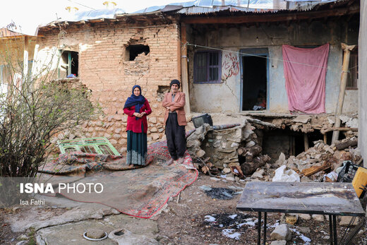 سیسخت؛ یک هفته پس از زلزله
