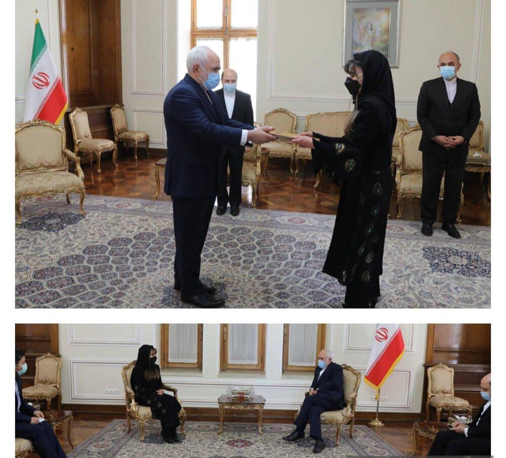دیدار سفیر جدید بولیوی با ظریف/عکس