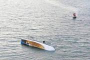 ببینید | واژگون شدن قایق مهاجران کوبایی در آبهای آمریکا