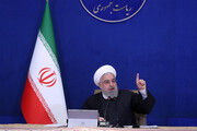 روحانی: مردم در این ۳ سال، علیوار در مقابل مشکلات ایستادگی کردند