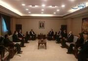 دیدار خطیبزاده با وزیر خارجه سوریه