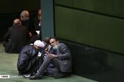 تصاویر | گعده نمایندههای مجلس در جلسه علنی