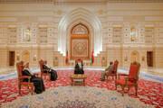 عکس | عظمت و زییایی فرش ایرانی در کاخ اصلی سلطان عمان